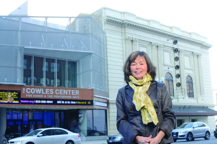 Through her work with Artspace Projects, Peggy Lucas, a partner at Brighton Development, helped realize the Cowles Center in downtown Minneapolis.