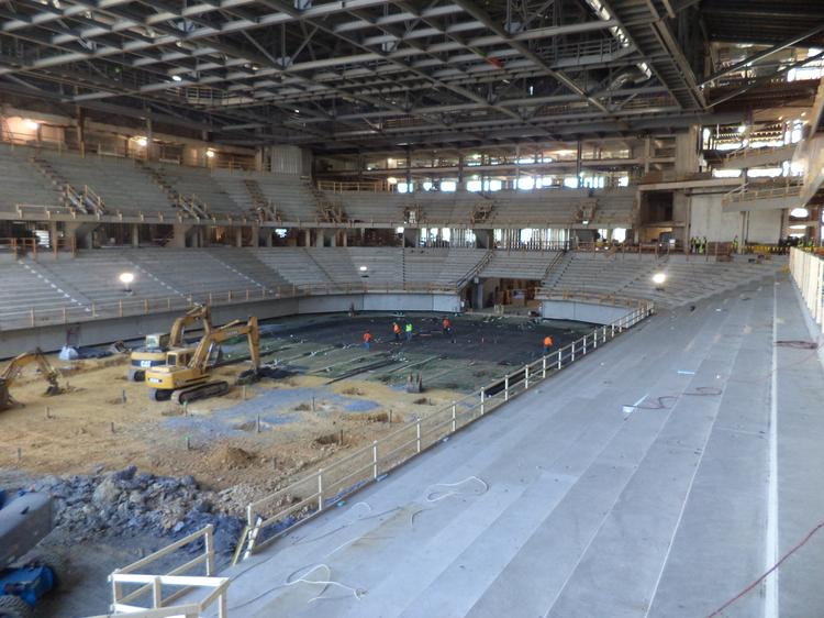The PPL Center in Allentown is set to open this summer.