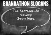 Can you see this as Sacramento's new slogan? The Sacramento Valley: Grow here
