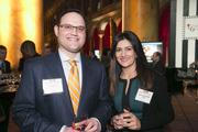 Eduardo Gil of Sensis and Sawra Ronaldi of PNC