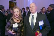 Cassandra Cullison of Perkins & Will with Jim Dugan of Davis Construction