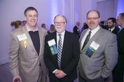 Don Blanchon of Whitman-Walker Health with Dan Moore of Perkins & Will and Jon Hancher of Davis Construction