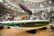 A Mastercraft boat at the Minneapolis Boat Show.