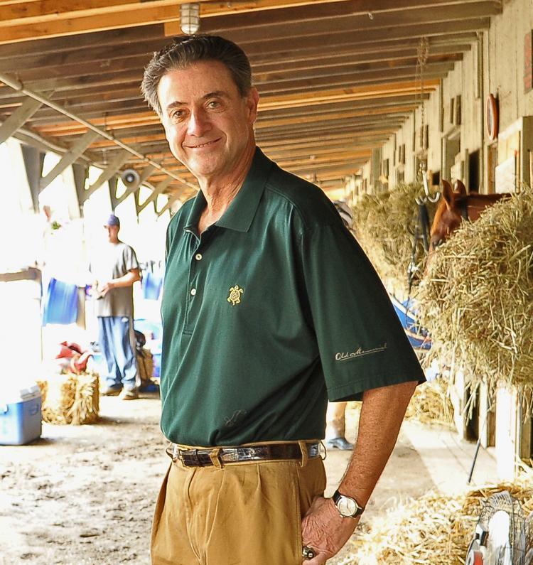 Louisville basketball coach Rick Pitino has been coming to Saratoga for 30 years, and makes no secret of his affinity for the race track.