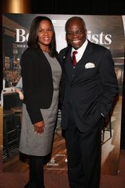 Tselane Robertson of Cox Business and Basile Lemba of Basile Lemba