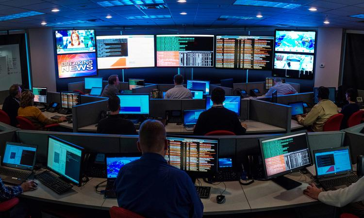 The CBTS Advanced Cyber Security division's new Threat Intelligence Center is staffed with experts in military, financial, manufacturing and defense industries to monitor and protect customers' data.