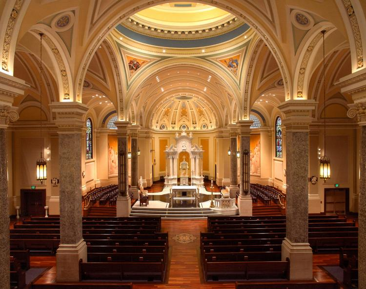 Renovation – Over $10,000,000 AWARD OF EXCELLENCECATHEDRAL OF IMMACULATE CONCEPTIONSimpson Construction Services, WichitaOwner: Catholic Diocese of Wichita, WichitaArch: Architectural Innovations, Wichita
