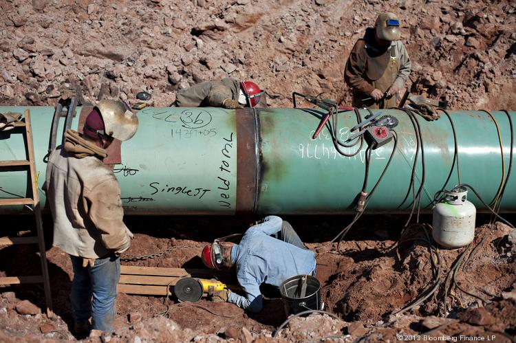 Work on the Southern leg of the Keystone XL pipeline already has been completed.