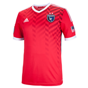 The new secondary jersey of the San Jose Earthquakes.