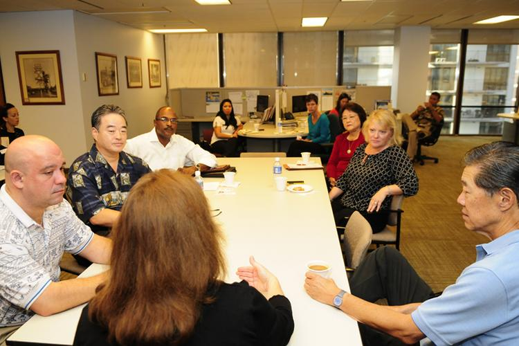 Residential real estate executives gathered at PBN's newsroom Friday for a roundtable discussion.