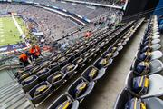 The NFL put goodies in every fan's seat.