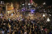 Thousands of Seahawks fans flood First Avenue in Pioneer Square after the Seahawks win the Super Bowl.