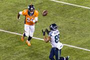 Seattle receiver Doug Baldwin makes a big catch early in the game.