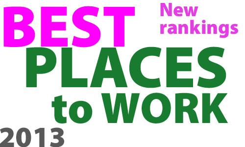 We have grouped 125 companies into five categories based on employee count, then ranked them within each category to arrive at the Best Places to Work.