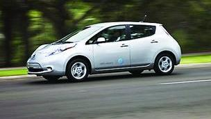 Apex will buy three Nissan Leafs to become more energy efficient.