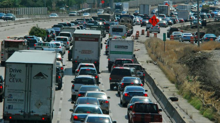 Road projects to relieve traffic congestion could run out of money this summer if Congress doesn't address a looming shortfall in the federal Highway Trust Fund.