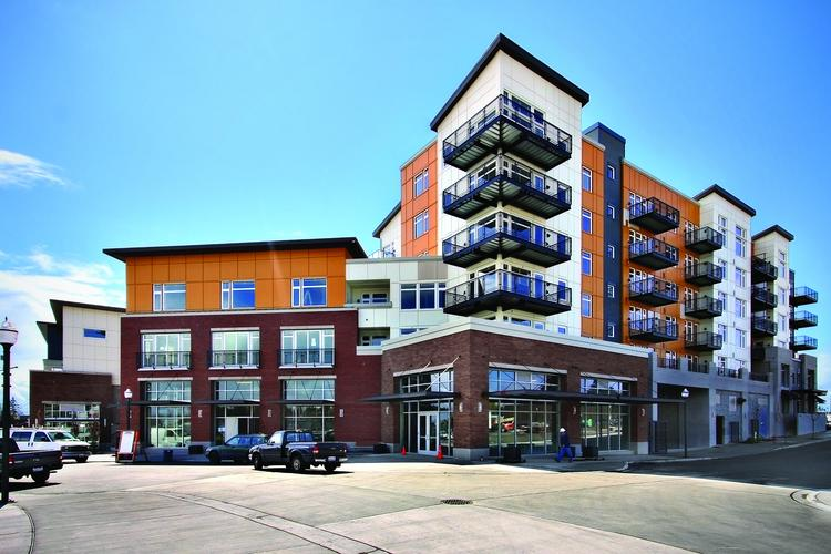 Intracorp Marketing & Sales has taken over the sales and marketing of Burien Town Square's condos.