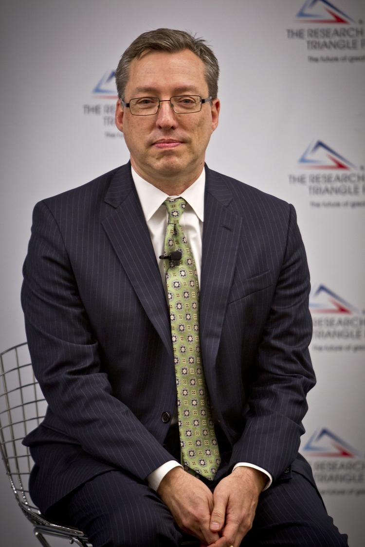 Bob Geolas is the president and CEO of the Research Triangle Foundation, the landlord of Research Triangle Park.