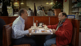Jerry Seinfeld appears in a Super Bowl spot for his web series