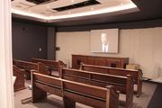 Replica of the U.S. Supreme Court as part of Brown v. Board of Education exhibit