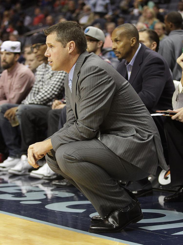 Grizzlies Head Coach Dave Joerger