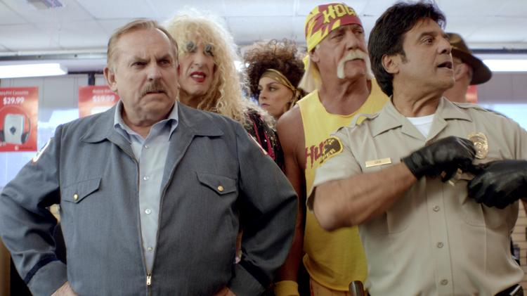 """The '80s-themed """"Phone Call"""" spot for RadioShack was a hit during this year's Super Bowl. The spot was created by Austin agency GSD&M."""