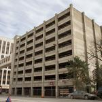 Eby Construction starts structural repair work on city's South Market parking garage