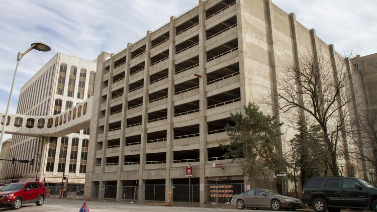 The city of Wichita will redo the entire 550-space parking garage at 215 S. Market, rather than phasing in improvements.