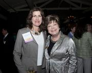 State Assembly District 12 candidate Catherine B. Baker and Sacramento Republican Party representative Dottie Linden pose at legislative welcome reception.