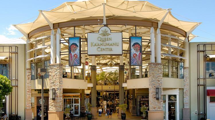 The Queen Kaahumanu Center on Maui is the largest shopping mall outside of Oahu in Hawaii.