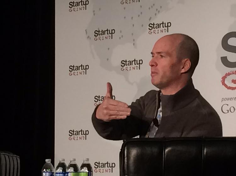 Ben Horowitz, name partner at the Andreessen Horowitz venture capital firm, at Startup Grind in Silicon Valley.