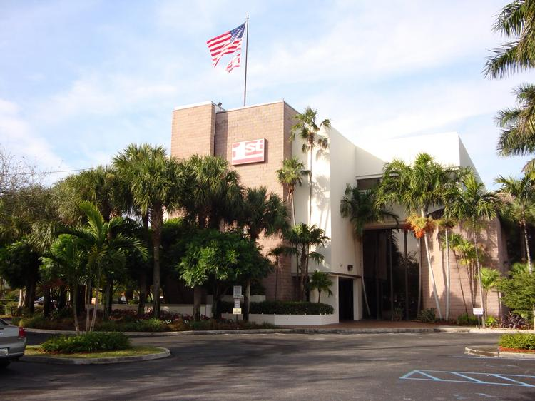 "1st National Bank of South Florida has been declared in ""safe and sound"" condition by regulators."
