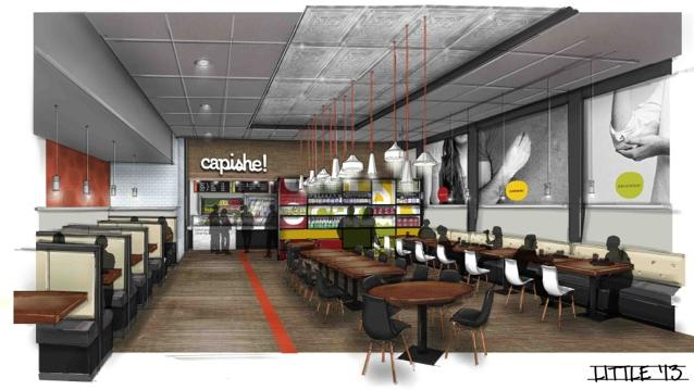 Three locations of Capishe! Bold Italian Kitchen are planned for the Charlotte market. That includes two locations in south Charlotte and one in uptown.