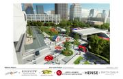Proposed enhancements for MARTA's existing Arts Center Station.
