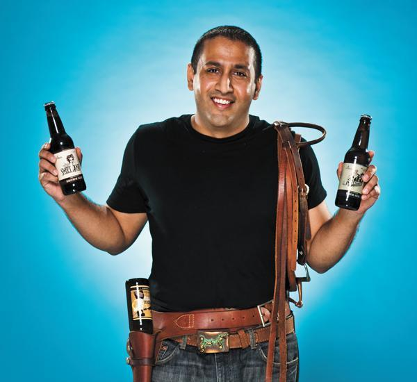 Sumit Vohra, CEO of Lonerider Brewing Co. in Raleigh