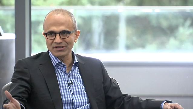 A New York Times report said Microsoft could announce big layoffs Thursday. A letter from CEO Satya Nadella to employees last week hinted of reorganization ahead.