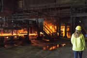 Jacksonville's Gerdau Steel plant has an annual melt shop capacity of approximately 640,000 tons.