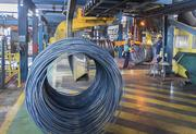 Jacksonville's Gerdau Steel plant produces wire rod that is used in the civil construction and consumer product markets.