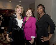 City of Roseville Councilmember Bonnie Gore, Assemblywoman Beth Gaines and Big Brothers Big Sisters CEO Rhonda Staley-Brooks pose at the Sacramento Metro Chamber awards.