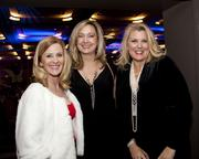 Crocker & Crocker partner Lucy Eidam Crocker, WEAVE director and CEO Beth Hassett and Bank of America senior vice president of social responsibility Lori Rianda pose at the Sacramento Metro Chamber awards.
