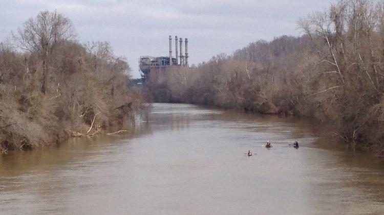 A broken stormwater pipe at Duke Energy's Dan River Steam Station has dumped about 82,000 tons of ash into the river.