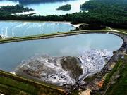 A coal ash spill into the Dan River near Eden in northern North Carolina is re-energizing concerns about Riverbend Steam Station's ash ponds.