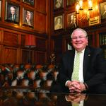 Speaker <strong>DeLeo</strong> would raise the state's minimum wage to $10.50 an hour