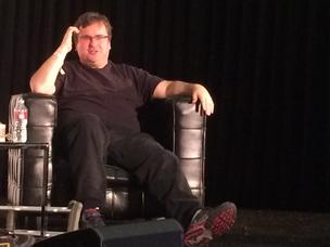 Reid Hoffman, who co-founded PayPal and LinkedIn before joining Greylock Partners, advised Startup Grind attendees on the best way to find mentors.