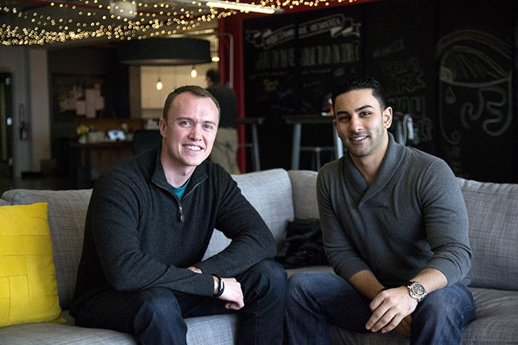 Citelighter co-founders Lee Jokl, left, and Saad Alam have raised $1.52 million in seed-round funding.