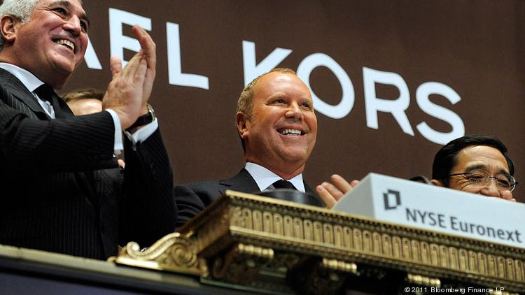Designer Michael Kors, shown here in 2011 when his company went public, leveraged social media for some serious buzz during Fashion Week, according to research by Shareablee Inc.