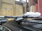 Freezing rain created havoc in the Philadelphia area on Feb. 5, creating widespread power outages, downed tree limbs and traffic woes.