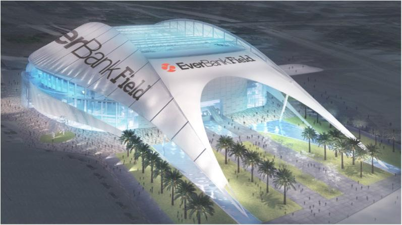 A Conceptual Rendering Of Ideas The Jaguars Have For EverBank Field  Improvements.u003cbru003e
