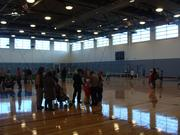 The Memphis Kroc Center's gymnasium welcomed thousands of guests at its open house.