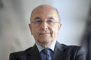 Joaquin Almunia, competition commissioner for the European Union (EU), poses for a photograph in London, U.K., on Monday, May 14, 2012.